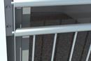 Balkon aus aluminium
